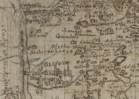 Timothy Pont Map
